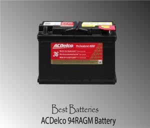ACDelco 94RAGM Car Battery