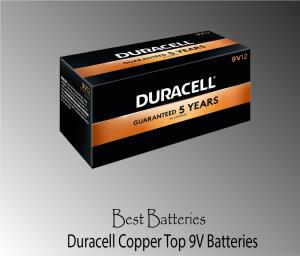 Duracell Coppertop 9V