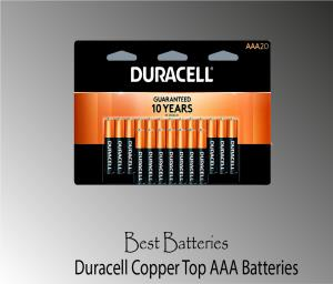Duracell Coppertop AAA Battery