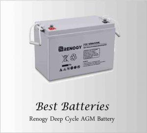 Renogy AGM Deep Cycle Battery