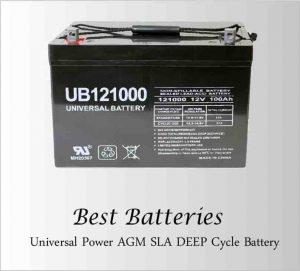 Universal AGM Deep Cycle Battery
