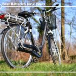 Best Batteries for e Bikes - Buying Guide 2020