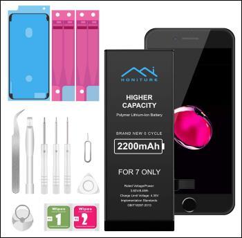 HONITURE Battery for iPhone 7 2200mAh