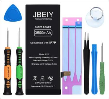 JBEIY Battery Compatible with iPhone 7