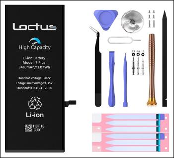 Loctus Battery Replacement Kit